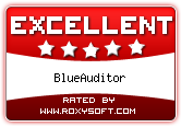 BlueAuditor Award from Roxysoft