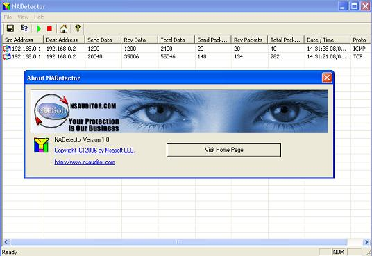 Click to view NADetector 1.3 screenshot