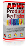 APKF - Adobe Product Key Finder is Adobe CS3 and CS4 License Key Find and Recovery program