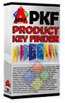 APKF - Adobe Product Key Finder