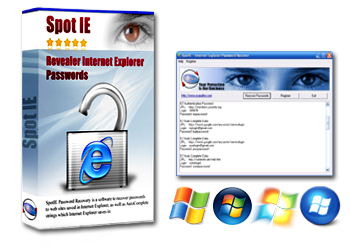 Internet Explorer Password Recovery