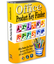 Office Product Key Finder recovers product key for Microsoft Office 2010, 2007 and 2003.