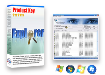 Product Key Explorer displays product key for Windows, MS Office, SQL, Exchange Server and over 1000 other software products installed on your local or remote network computers. In order to install or reinstall Microsoft Office, Windows, or other commercial software, you must have access to a product key (CD Key) for that product
