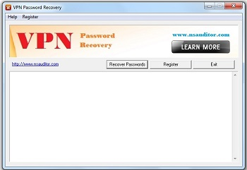 VPN Password Recovery