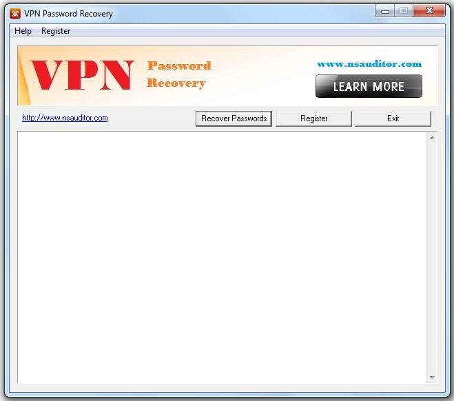 Windows 7 VPN Password Recovery 1.0.3 full