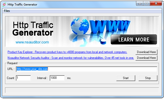 Http Traffic Generator For Testing Web Servers