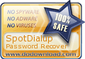 SpotDialUp Award from DoDownload