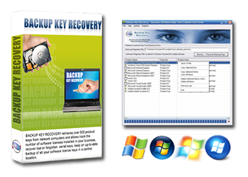 Backup Key Recovery | Product Key Recovery Software