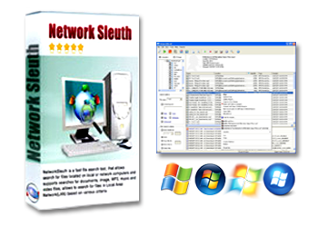 NetworkSleuth - Search into Your LAN or Corporate Network